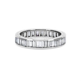 Full Eternity Ring Baguette Cut Channel Set 3.50ct Approx