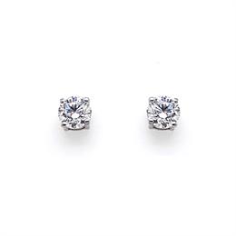 Brilliant Cut Claw Set Diamond Studs