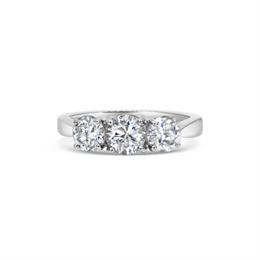 Diamond Trilogy Engagement Ring 1.75ct