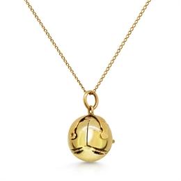 Masonic Orb Gold Pendant & Chain