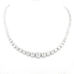Diamond Tennis Necklace 11.35ct