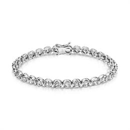 Brilliant Cut Diamond Tennis Bracelet 7.45ct